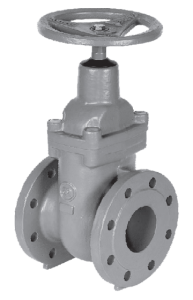 Metal Seated Gate Valves in grey or ductile cast iron