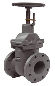 Metal Seated Gate Valves pn 16 flat body with opening indicator - Art 2510
