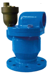 Air release valve for water double orifice - Triple function - Art 7040 e 7050