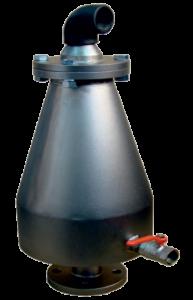 Valvola di sfiato per acqua a doppio galleggiante - Tripla funzione - Art 7040 e 7050