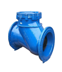 Ball check valves in grey or ductile cast iron