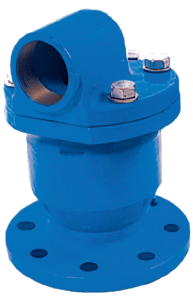 Air valves for water and sewage